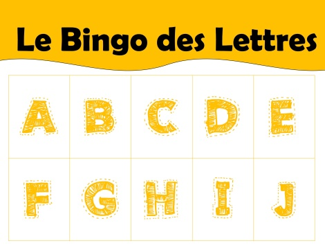 bingo lettres