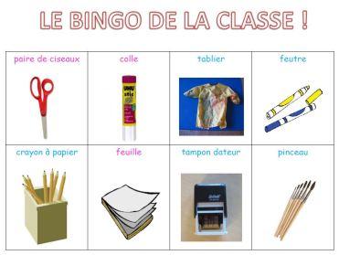 bingo classe